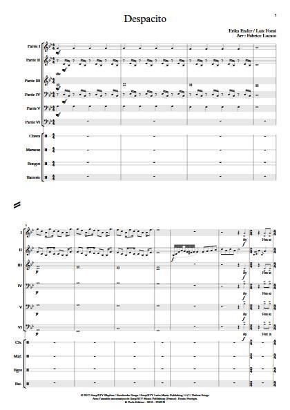 Despacito - Ensemble Variable - FONSI L. - app.scorescoreTitle