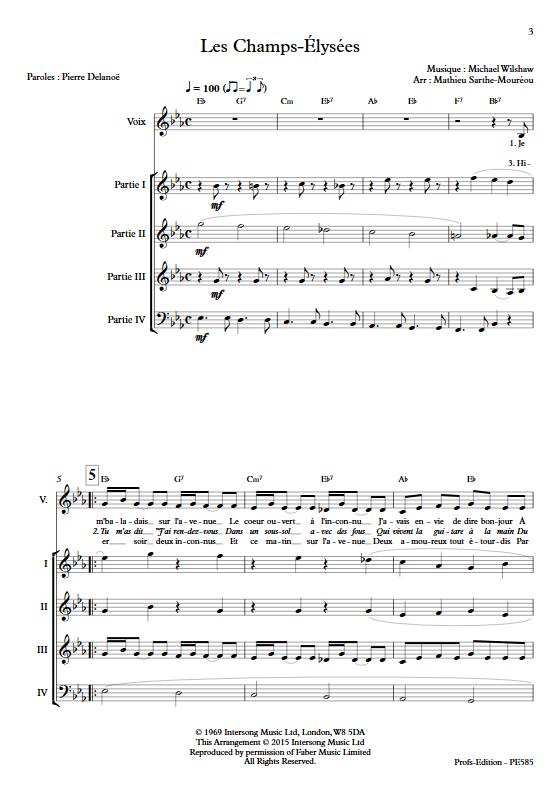 Les Champs-Élysées - Ensemble à Géométrie Variable - WILSHAW M. - app.scorescoreTitle