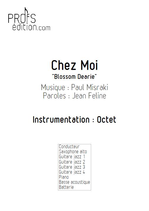 Chez Moi - Octet - MISRAKI P. - page de garde