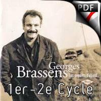 Les copains d'abord - Ensemble de Saxophones - BRASSENS G;