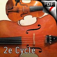 Valse n°15 Opus 39 - Duo Violon Violoncelle - BRAHMS J.
