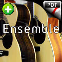 Tres Hojitas - Ensemble Guitares - TRADITIONNEL ESPAGNOL