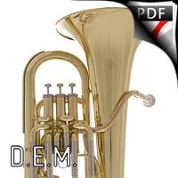 Fantaisie - Euphonium Solo - DUBOIS J-P