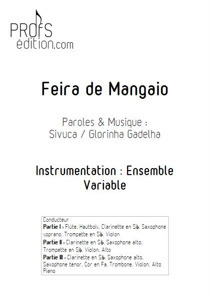 Feira de Mangaio - Ensemble Variable - SIVUCA - page de garde