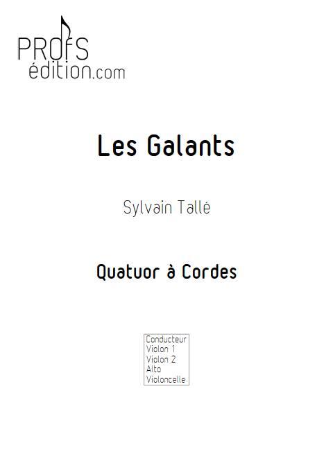 Galant - Quatuor à Cordes - TALLE S. - page de garde