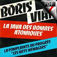 La Java des bombes Atomiques - Relevé Complet - VIAN B.