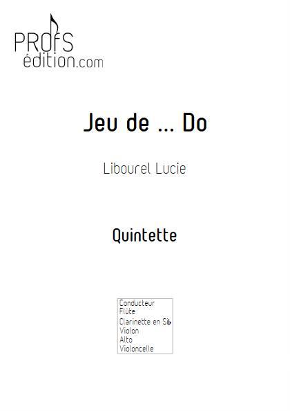 Jeu de Do - Quintette - LIBOUREL L. - page de garde