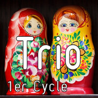 Katarina - Trio 2 Violons et Piano - TROTOUX J. M.