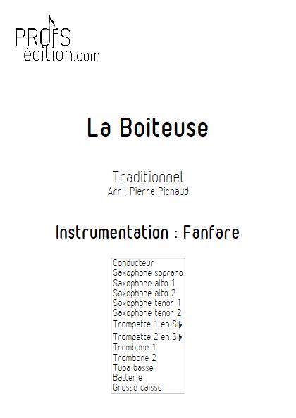 La Boiteuse - Fanfare - TRADITIONNEL - page de garde