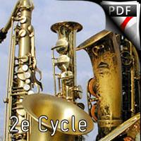 La soul dans l'âme - Ensemble de Saxophones - COLOMBANI L.