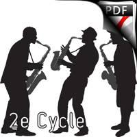 La Bamba Trio Saxophones