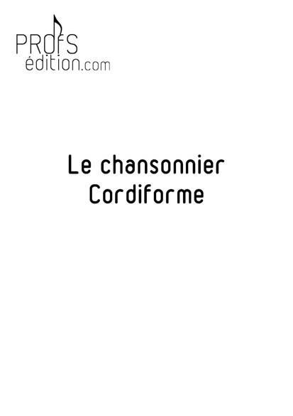 le chansonnier Cordiforme - Poster - CHARLIER C. - page de garde