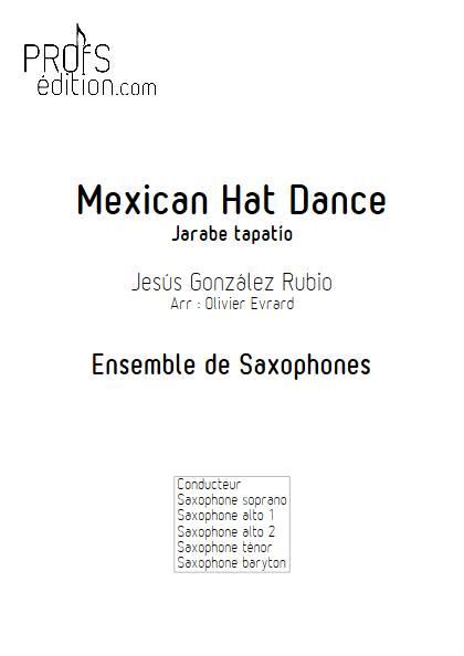 Mexican Hat Dance (Jarabe Tapatio) - Ensemble de Saxophones - RUBIO J. G. - page de garde