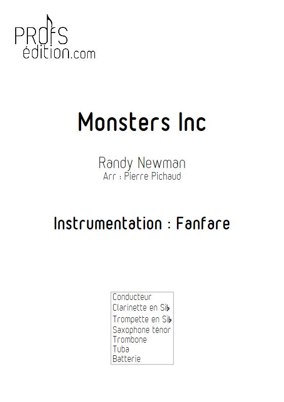 Monstres et Cie - Fanfare - NEWMAN R. - page de garde