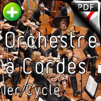 Pavane des Santons - Orchestre Cordes - GUILLONNEAU C.