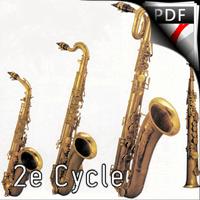 Prélude N°4 - Quatuor de Saxophones - BRUHNS N.