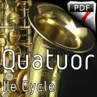 Sérénade KV 361 - Quatuor de saxophones - MOZART W. A.