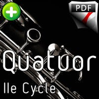 Tétris - Quatuor de Clarinettes - TRADITIONNEL RUSSE