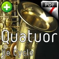 Quatuor KV 421 - Quatuor Saxophones - MOZART W. A.