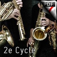 Romance - Quatuor de Saxophones - MOZART W. A.