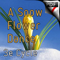 A Snow Flowers Dance - Duo Saxophone & Piano - MOUREY C.