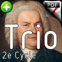 Invention BWV 794 - Trio - BACH J. S.