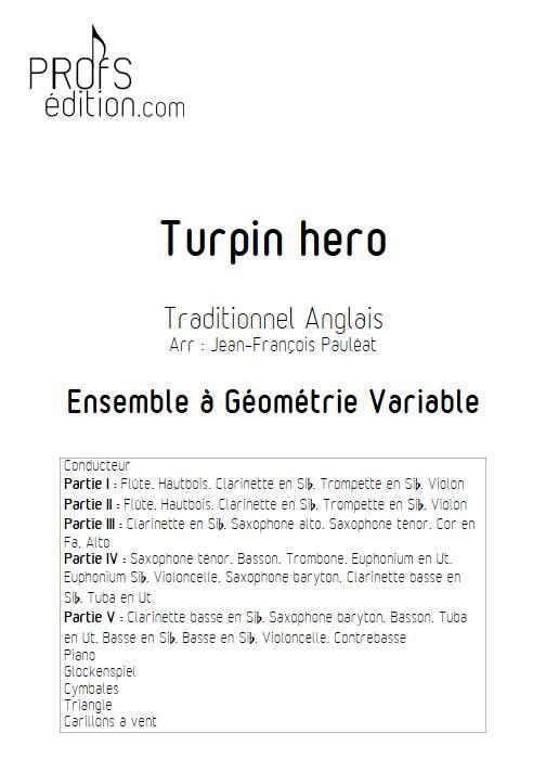 Turpin Hero - Ensemble Variable - TRADITIONNEL ANGLAIS - page de garde