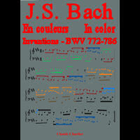 Bach in colour – BWV 772-786 Inventions - Analysis - CHARLIER C.