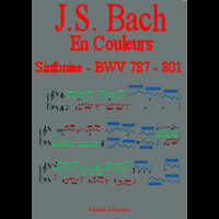Bach in colour - BWV 787 to 801 Sinfoniae - Analysis - CHARLIER C.